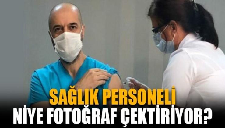 SAĞLIK PERSONELİ NİYE FOTOĞRAF ÇEKTİRİYOR? İşte madde madde yanıtı