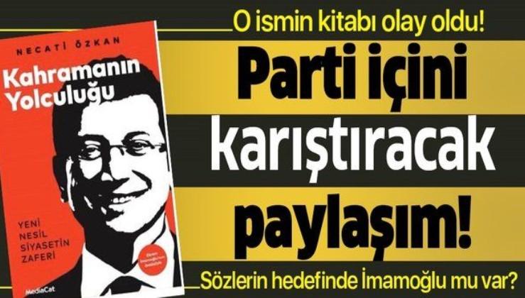 Kahramanın Yolculuğu kitabı Canan Kaftancıoğlu'nu çok kızdırdı!.