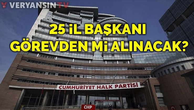 Sözde demokrasi: CHP'de 25 il başkanı görevden mi alınıyor?