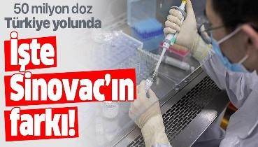 Türkiye'nin 50 milyon doz sipariş ettiği koronavirüs aşısı Sinovac'ın diğer aşılardan farkı ne? Sinovac ne kadar etkili?