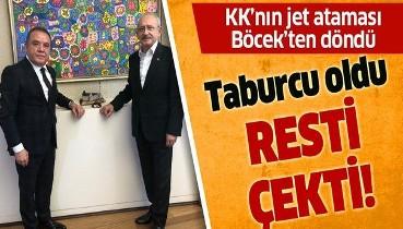 Kılıçdaroğlu'nun talimatıyla Genel Sekreter Yardımcılığı'na atanan Dr. Hüseyin Karakuş Muhittin Böcek tarafından görevden alındı