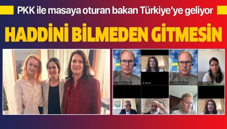 Son dakika: Dışişleri Bakanlığı duyurdu: İsveç Dışişleri Bakanı Ann Linde, Türkiye'ye geliyor