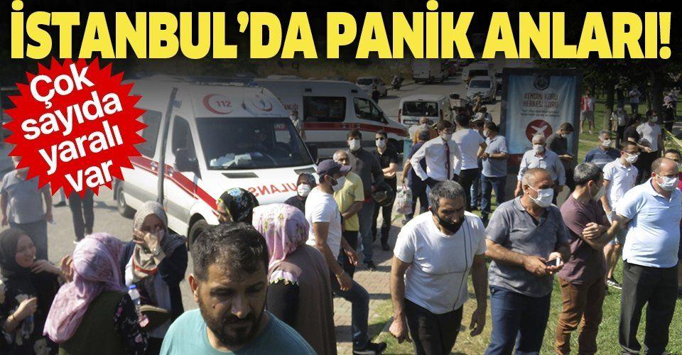 Son dakika: Ümraniye'de kaza yapan yolcu minibüsü devrildi! Çok sayıda yaralı var