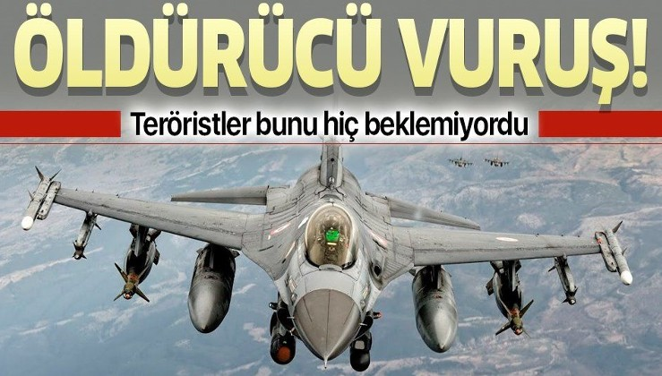PKK'ya Karacak Dağı'nda öldürücü vuruş! İHA'lar buldu, F-16'lar vurdu.