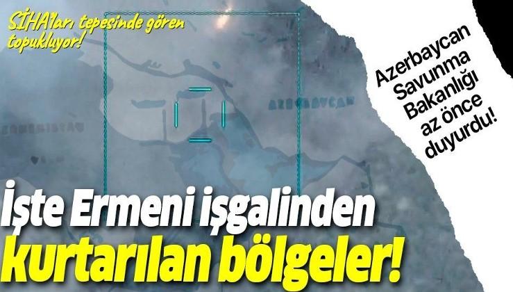 Son dakika: Azerbaycan duyurdu! İşte Ermenistan işgalinden kurtarılan bölgeler!
