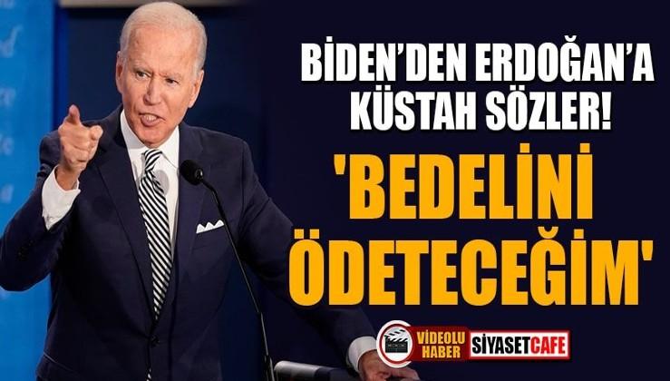 ABD Başkanı Biden'dan Cumhurbaşkanı Erdoğan'a küstah sözler!