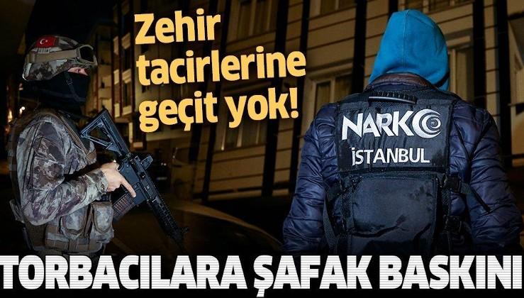 SON DAKİKA: İstanbul'da uyuşturucu operasyonu: Çok sayıda gözaltı var