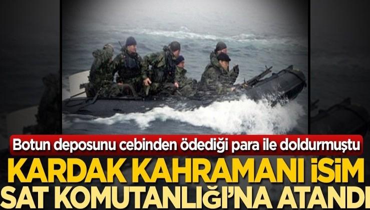Kardak kahramanı Tuğamiral Ercan Kireçtepe SAT komutanı oldu