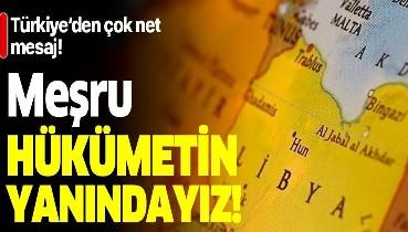 Milli Savunma Bakanı Hulusi Akar'dan Libya'da flaş açıklamalar: Meşru hükümetin yanındayız!