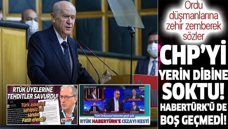 MHP lideri Devlet Bahçeli: Orduya satılmış demek vatana ihanettir!