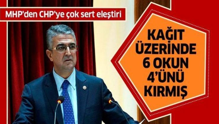 MHP'den CHP'ye çok sert eleştiri: Kağıt üzerinde 6 okun 4'ünü kırmış.