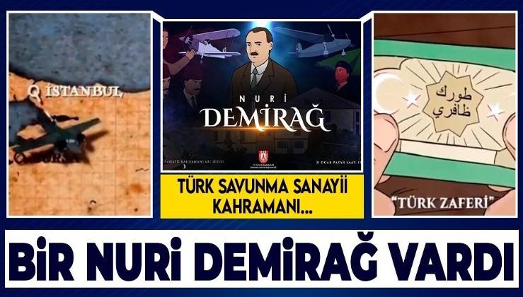 Türkiye'nin kahramanı Nuri Demirağ'ın hayatı animasyonla anlatıldı