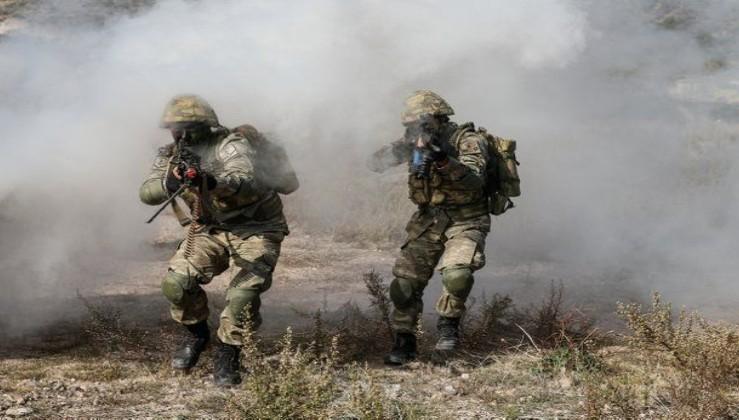Güvenlik güçlerine el bombası atmaya çalışan PKK'lı terörist 'Renas' kod adlı Kutbettin Saltan, etkisiz hale getirildi!.