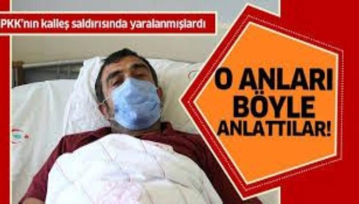 Van'da eli kanlı terör örgütü PKK'nın kalleş saldırısı ile yaralanmışlardı! İşçiler saldırı anını anlattı