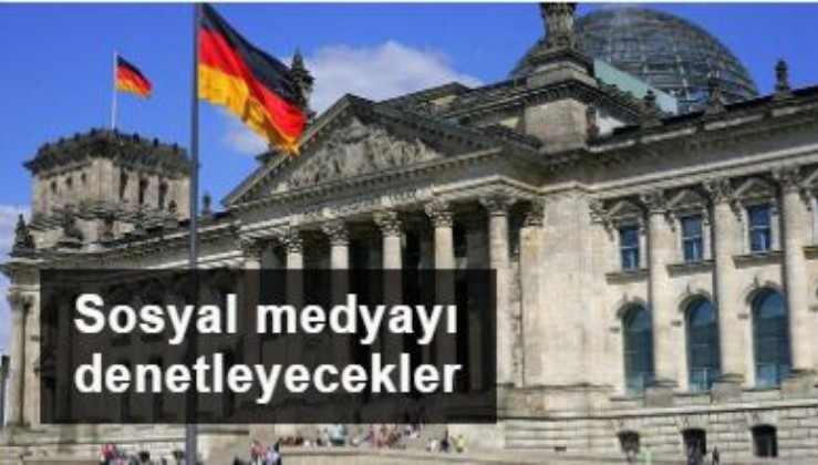 Almanya sosyal medya şirketlerini yasal olarak denetleyecek