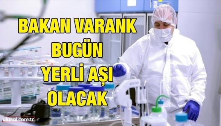 Bakan Varank bugün yerli aşı olacak
