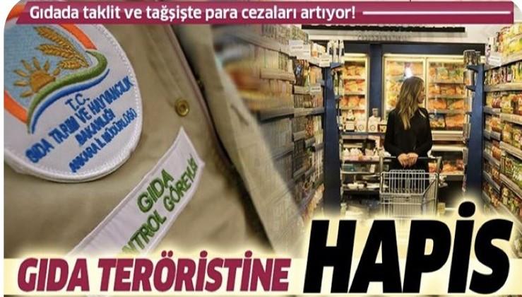 Gıda teröristine hapis