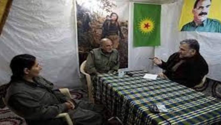 PKK elebaşı ve Ruşen Çakır