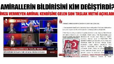 Amirallerin bildirisine ilişkin ortaya çıkan yeni detay: Emekli Amiral Semih Çetin açıkladı