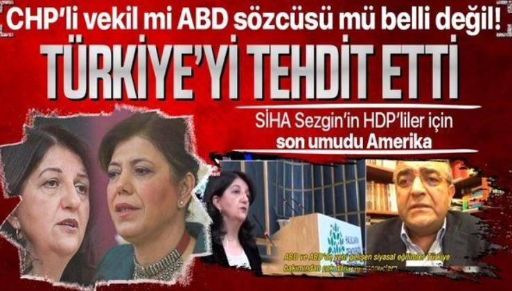 CHP'li Sezgin Tanrıkulu'ndan Türkiye'ye ABD üzerinden fezleke tehdidi