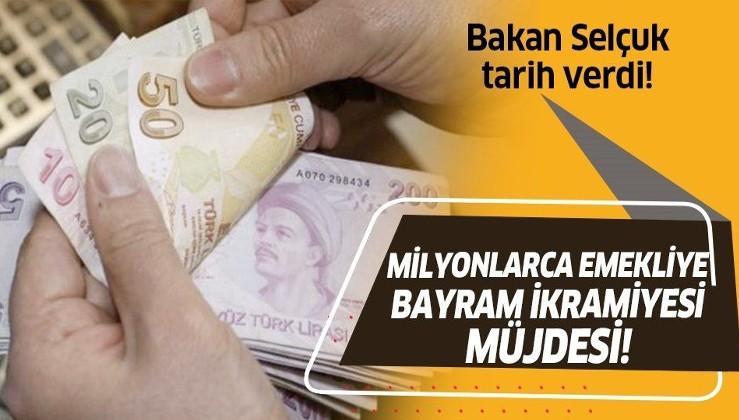 Son dakika: Milyonlarca emekliye müjde! Emeklilerin Ramazan Bayramı ikramiyesi ne zaman ödenecek? Bakan Selçuk tarih verdi!
