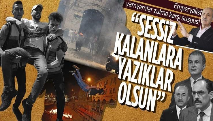 Dünya İsrail zulmüne sessiz kalırken Türkiye'den peş peşe tepkiler!