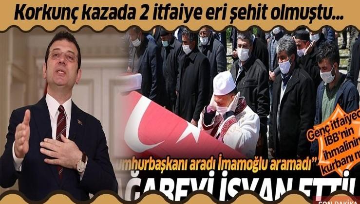 Kadıköy'de feci kazada 2 itfaiye eri şehit olmuştu!