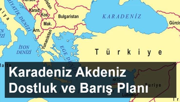 Rusya'da ve KKTC'de gündem: Karadeniz – Akdeniz Dostluk ve Barış Planı