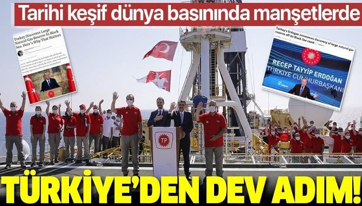 Dünya basını Türkiye'nin tarihi doğal gaz keşfini konuşuyor: Tarihin en büyüğü!