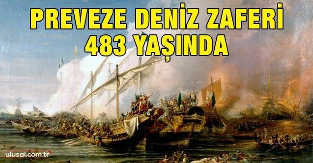 Preveze Deniz Zaferi 483 yaşında