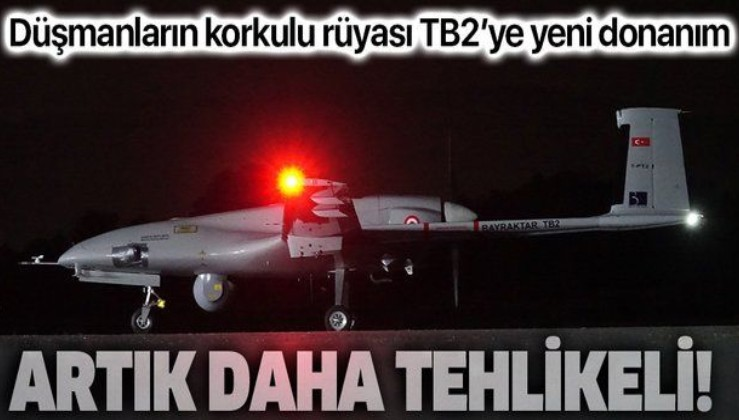 TB2 Bayraktar düşmanlar için artık daha tehlikeli: Türksat'ın kapsama alanındaki her bölgede uçuş yapabilecek