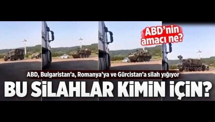 Türkiye seçimle oyalanırken ABD Bulgaristan sınırına dayandı