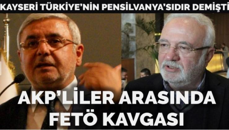 AKP'liler arasında FETÖ polemiği: Metiner'den Elitaş'a Kayseri cevabı