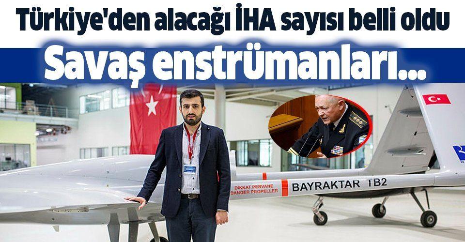 O ülke Türkiye'den 5 Bayraktar İHA satın alacak
