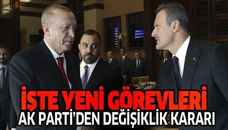 Son dakika: AK Parti'de görev değişikliği! Alpay Özalan ve Ali Şahin...