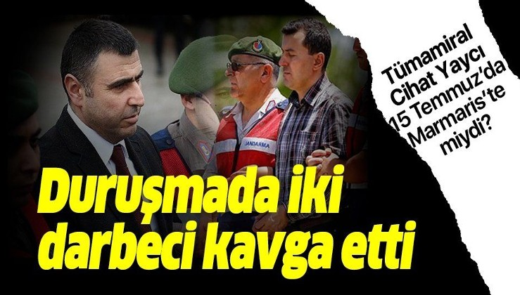 Erdoğan'ın darbeci yaveri ile darbeci eski albay duruşmada kavga etti!