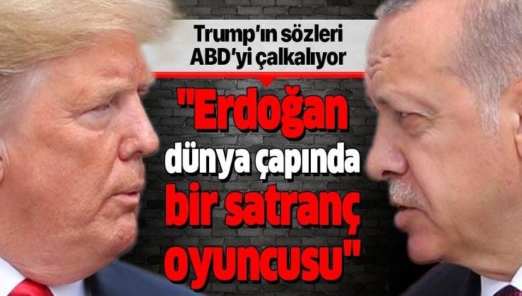 Donald Trump: Erdoğan dünya çapında bir satranç oyuncusu, Biden baş edemez