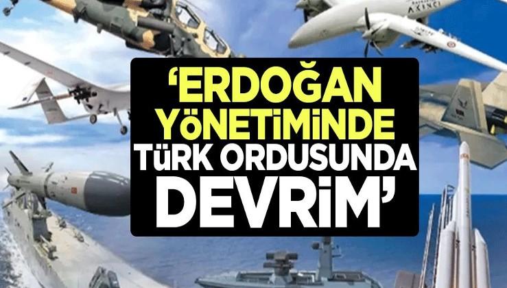 """Dünyaya bu manşetle duyurdular! """"Erdoğan yönetiminde Türk ordusunda devrim"""""""