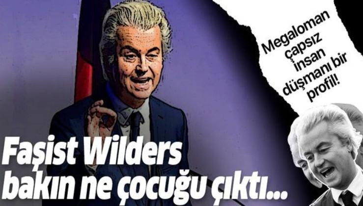 İslam'a saldıran katıksız faşist Wilders'in kirli sicili!