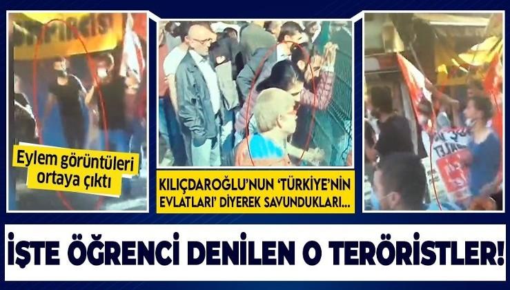 İşte 'Boğaziçi Üniversitesi' bahanesiyle sokakları karıştırmak isteyen 'öğrenci' denilen o teröristler!