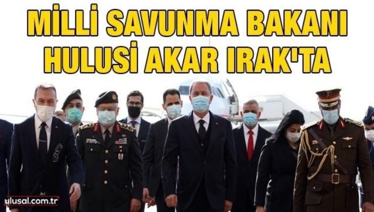 Milli Savunma Bakanı Hulusi Akar Irak'ta