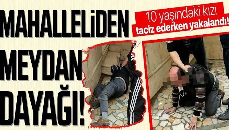 Bursa'da iğrenç olay! 10 yaşındaki kız çocuğunu taciz ederken yakaladılar