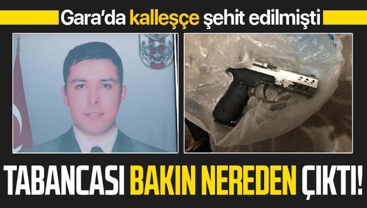 Gara şehidi Uzman Çavuş Hüseyin Sarı'nın tabancası Diyarbakır'daki terör operasyonunda ele geçirildi