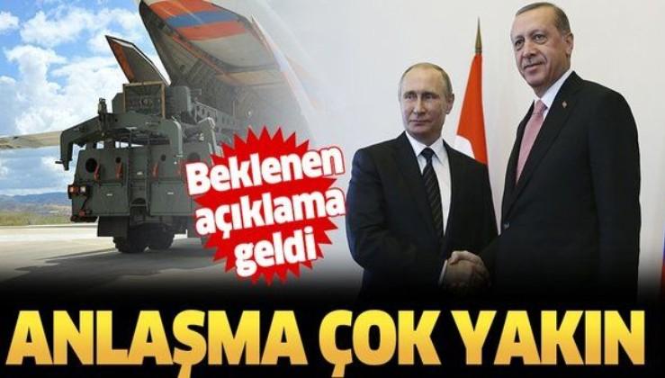 Türkiye'den flaş S-400 açıklaması: Anlaşma çok yakın.