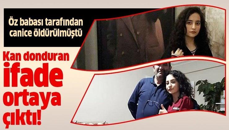 Ankara'da öz babası tarafından öldürülen Şeyma Yıldız cinayetinde flaş gelişme!