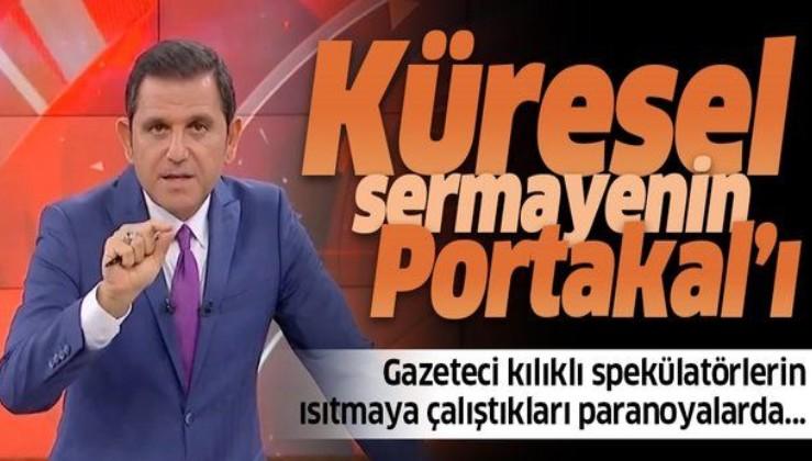 FOX sunucusu Fatih Portakal'a tepki: Küresel sermayenin Portakal'ı
