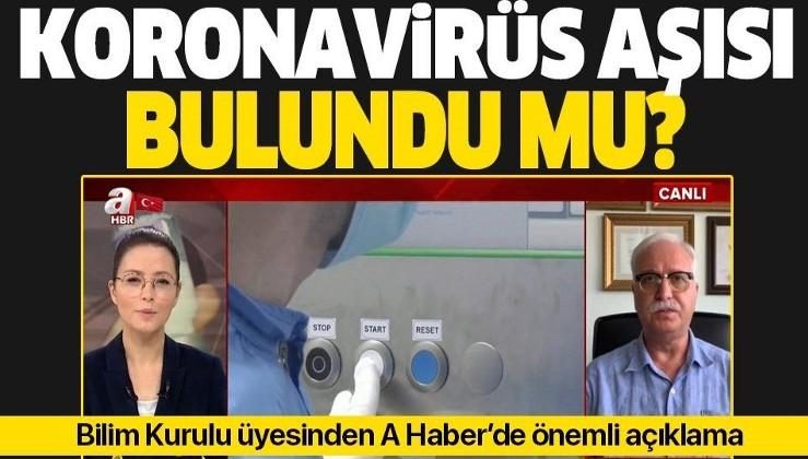 Koronavirüs aşısı bulundu mu? Bilim Kurulu üyesi Tevfik Özlü'den önemli açıklamalar