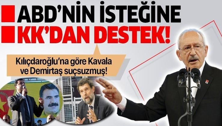 """Türkiye 'Kimse emir veremez' demişti... ABD'nin """"Osman Kavala"""" isteğine CHP lideri Kemal Kılıçdaroğlu'ndan destek!"""