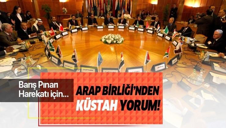 Arap Birliği değil ABD/İsrail maşaları birliği!