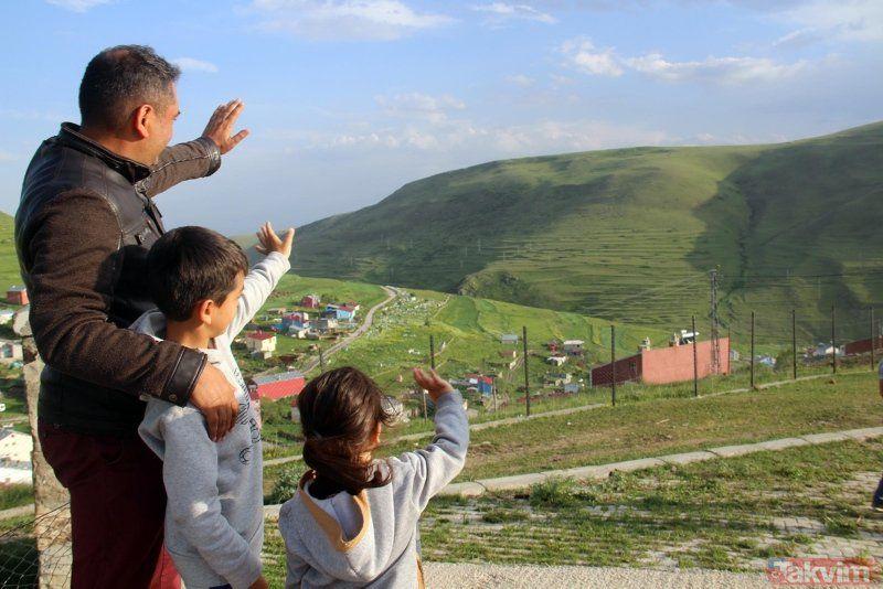 Atatürk silueti bir kez daha Ardahan Damal'da görüldü